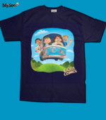 roger workman's mystery machine tee
