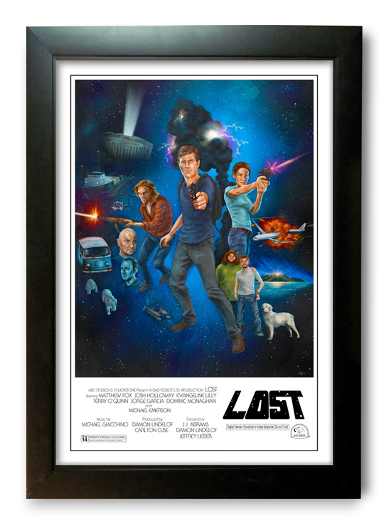 lost-is-the-new-star-wars-print-framed